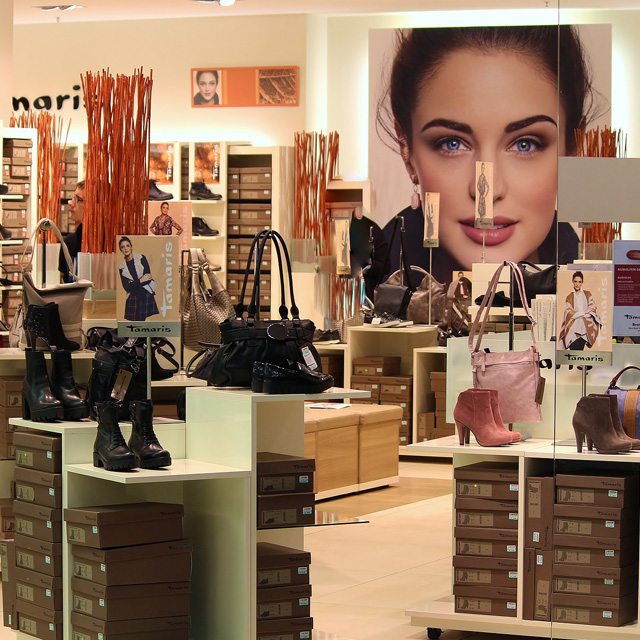 Shoes and Bags Retail Showroom