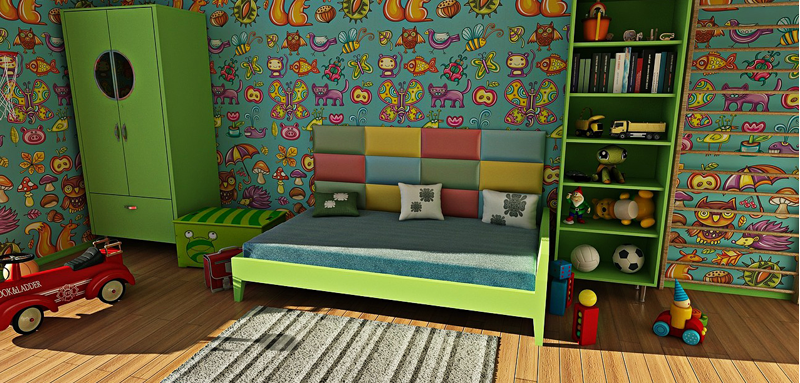Kids Bedroom Wall Paper