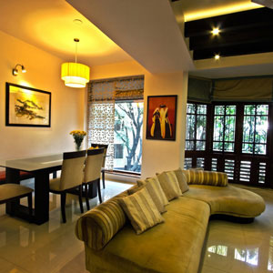 Three Bedroom Apartments in Domlur 2500 sft Premium