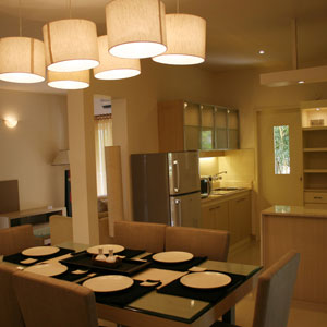 Model Apartments Dining Area