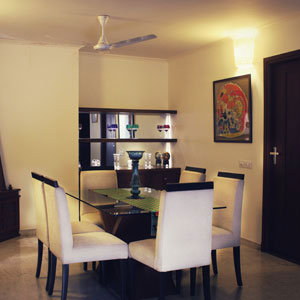 Duplex 3 BHK Dining Area