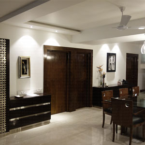 Five Bedroom Apartment Dining Room in Koramangala