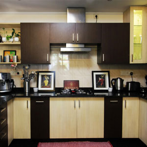 4 BHK Apartemnt Kitchen