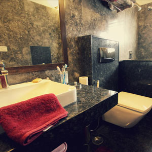 Luxury 4 BHK Apartment Bathroom