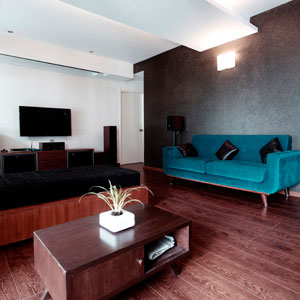 Robin Uttappa Living Area