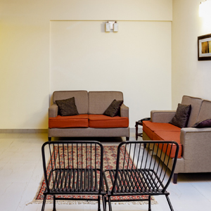 3BHK Apartment Living Room
