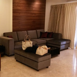 3 BHK Living Room