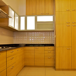 3 BHK Luxury Apartment Kitchen