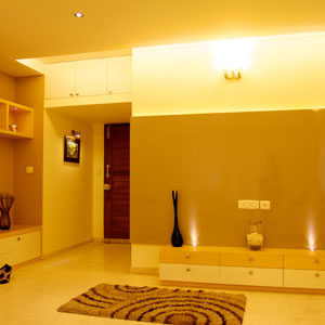 Luxury 3 BHK Apartment Living Area
